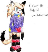 Colour the Hedgecat (request) by AggressiveBagels
