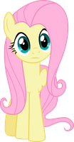 Staing Fluttershy by SapphireBeam