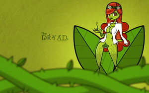 The Dryad Wallpaper by Asmodeus01