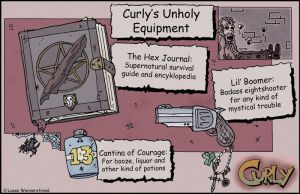 Curly's Unholy Equipment by LarsLasse