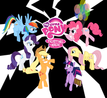 MLP-Fighting Is Magic coverart by thedeseasedcow