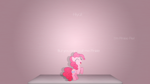 Hi Pinkie Pie :D by Elalition
