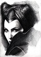 Maleficent (Angelia Jolie) by maxii740