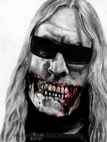 Pain.Murder.Art. Jeff Hanneman by Red-Szajn