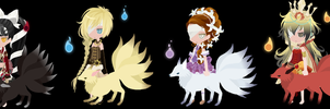 (FREE)Shape Shifters Adoptables (CLOSED) by Vexlovely