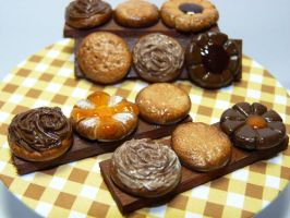 Miniature Cookie Bar Magnets by nyann