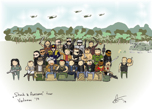 Broforce - The Crew by crashgordon
