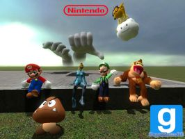 [GMOD] Nintendo Group Picture by SuperMaster10