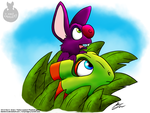 Another Yooka-Laylee pic by Slasher12