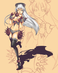 Character Design: Celest by Zhaes