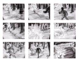Storyboard of Harry Potter and the Deathly Hallows by Shanblaney