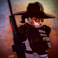 F:NV - The Lone Ranger by ColAutumnsOvercoat