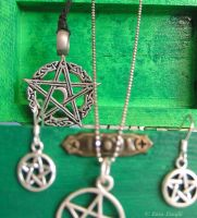 Pentacles by MetalLara