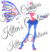 Pink And Blue Sirenix Adoptable *OPEN* by MsKittenCreations