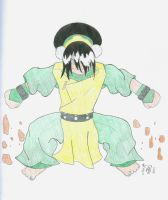 Toph Rocks by Tabris-The-17th