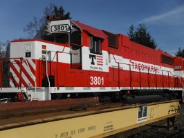 Tacoma Rail 3801 by TomRedlion