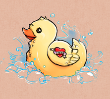 Rubber Duckie, You're the One! by Sherlocktopus