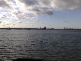 Southampton docks by thelaird1