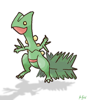 Sceptile by Aurikan