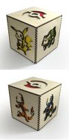 Pokemon Lasercut Box by Athey