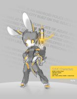 SYNC: Amber the Robot Rabbit by TysonTan