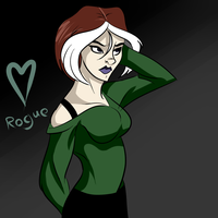 X-Men Evolution - Rogue  by Ask-Bud