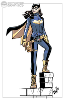 New Batgirl - Commish by EryckWebbGraphics