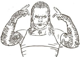 Jeff Hardy by SwampedTruth