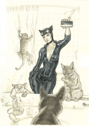 Cover-Variant-Catwoman-Orig by StephaneRoux