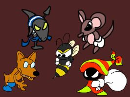Super Mario RPG Enemies Doodle by creecreehoneybees