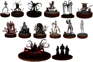 Creepypasta Series Figures Wave 1 Resource/Stock by dimelotu