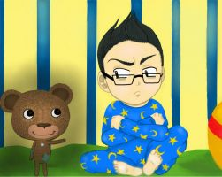 Markiplier-Among the Sleep by Payten-sama
