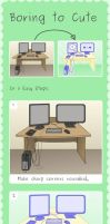 Kawaii and Cute Graphics Tutorial by Paradasia