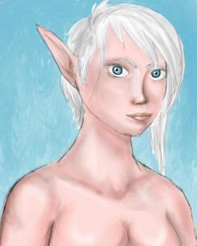 Blue Elf by Stardust-on-my-mind