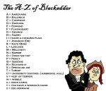 A-Z of Blackadder by IAmJonnie