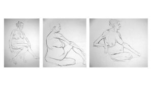 Life Drawing by KTKruse