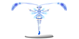 Polygon Love 2 Cirno Wings + DL ! by MMDYuuki