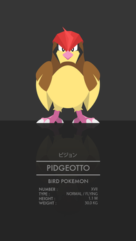 Pidgeotto by WEAPONIX