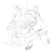 Fables Trio by jeffwamester