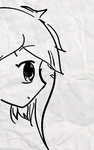 Flying hair + Blinking [GIF] by ChensArts-3008