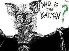 Who is the Batman? by MekareMadness