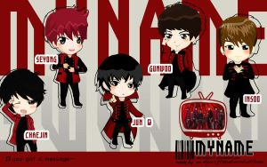 MYNAME Wallpaper by mn-minjee13