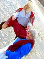 Howl and Sophie Cosplay Two by joshietakashima