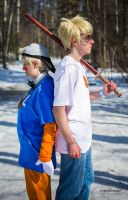 Homestuck - The Man and The Puppet by Midnight-Dance-Angel