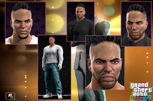 Saints Row The Third - Luis Lopez (not completed) by MS-Make