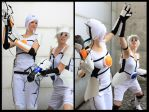 Atlas and P-Body Cosplay II by Knorke-chan