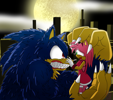 Werehog Encounter by McKimson