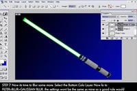 Lightsabers In PS by Vasper