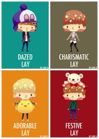 The Many Sides of Lay by Jade-Key