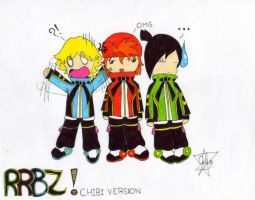 RRBZ - Chibi Version x3 by ChikaBoo94